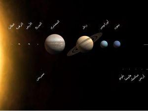 اكبر اقمار المجموعة الشمسية