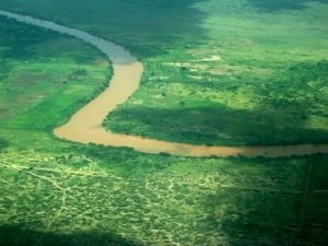 اين يقع نهر جوبا
