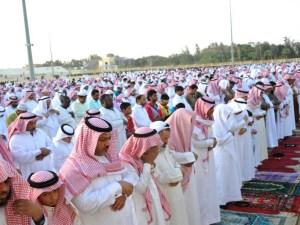 حكم صلاة العيد في البيوت