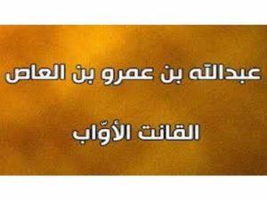 متى توفي الصحابي عبدالله بن عمرو بن العاص