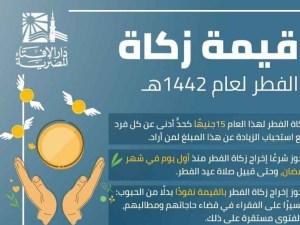 قيمة زكاة الفطر في السعودية 2021