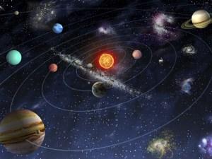 ماهي مكونات النظام الشمسي