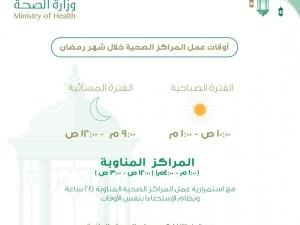 مواعيد دوام المستوصفات الحكومية فى رمضان