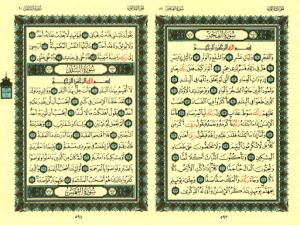 الخط او الرسم الذي يكتب به القرآن الكريم