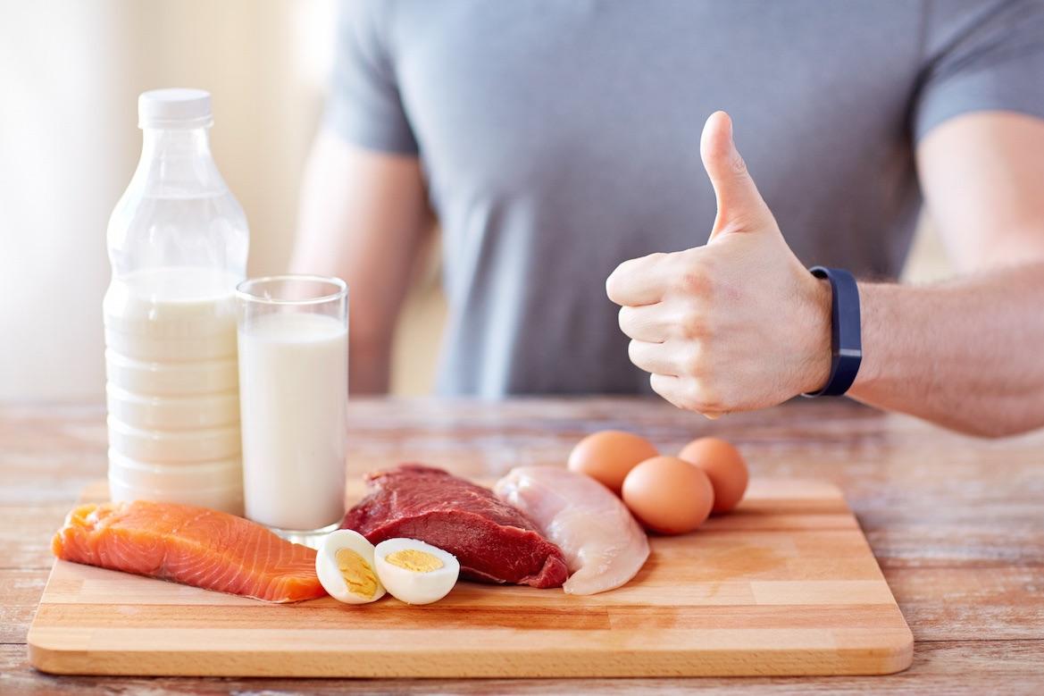 حساب احتياج الجسم من البروتين والكارب والدهون