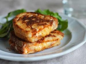 طريقة تحضير سندويتش الجبن المحمص