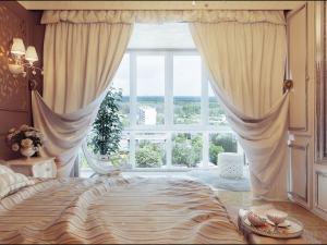 صور ستائر غرف نوم