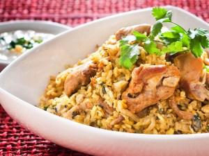 طريقة عمل ارز برياني بالدجاج