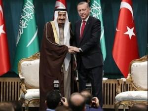 خادم الحرمين الملك سلمان يهنئ اردوغان بفوزه في الانتخابات الرئاسية التركية