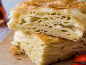 طريقة عمل البرك بالجبنة