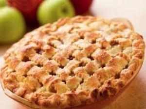 طريقة تحضير فطيرة التفاح منال العالم