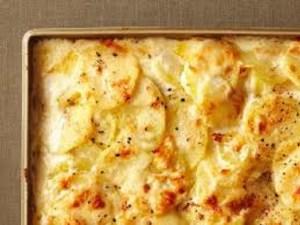 فطيرة البطاطس بالجبنة بالفرن