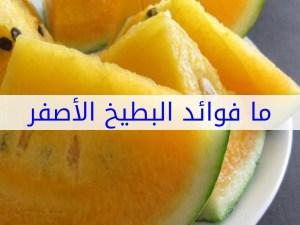 فوائد البطيخ الاصفر الغذائية للجسم
