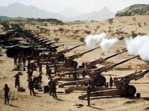 صور جنود سعوديين على الحد الجنوبي