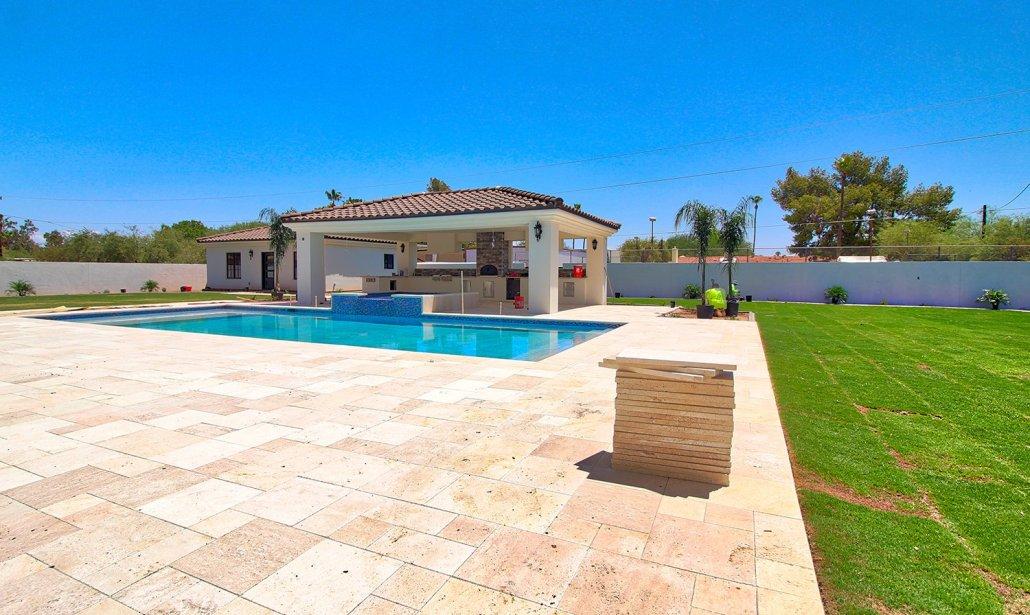pool deck outdoor remodel paradise valley scottsdale phoenix