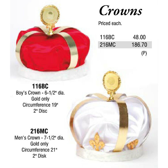 crowns promotional items more