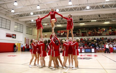 Varsity Cheer vs Erwin