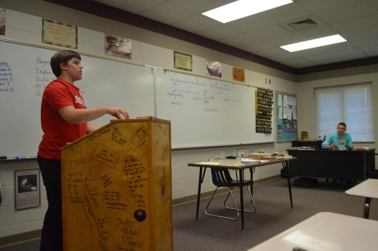 Classroom Insider: Honors English