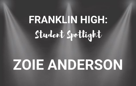 Student Spotlight: Zoie Anderson