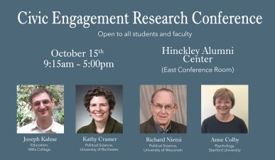 civic engagement conference poster