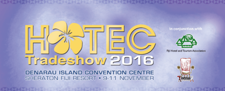 HOTEC 2016 update #1 - Fiji Hotel and Tourism Association