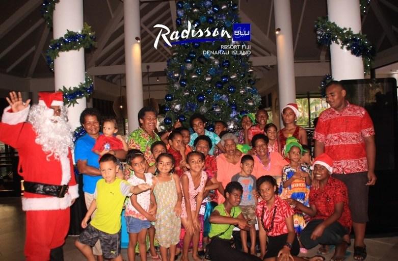 Radisson Blu Resort Fiji lights up for the Festive Season