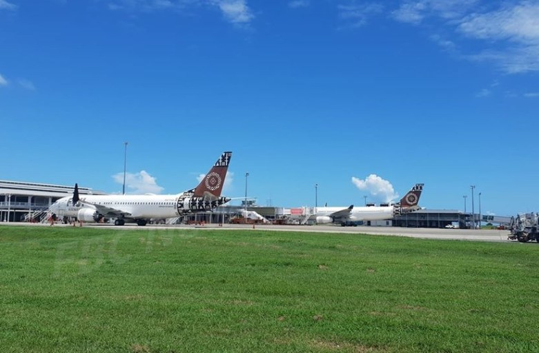 Fiji Airways leases aircraft from Miami Air