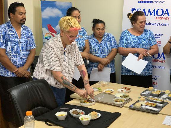 Samoa Airways' new 'farm to plane' menu to showcase more local produce