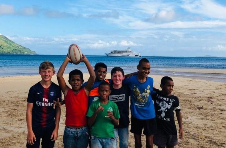 Captain Cook Cruises Fiji Raises $17,000 for Child Health in Fiji