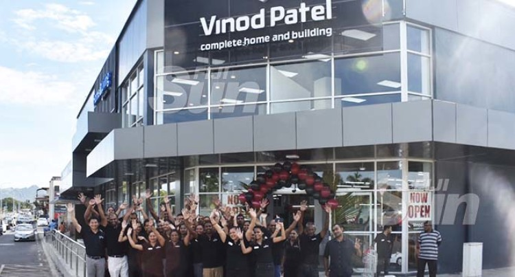 Vinod Patel Opens New Hardware In Namaka