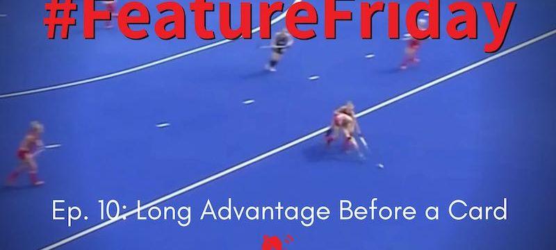 Hockey Rules and Interpretations   Long Advantage Before a Card