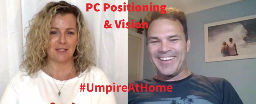Hockey Umpiring Skills |  PC Positioning & Vision | Adam Kearns