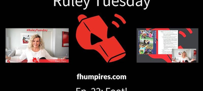 Foot! | How to Apply the Rules of Hockey | #RuleyTuesday Ep. 22