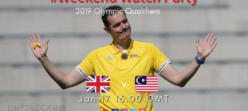 2019 Olympic Qualifiers | M02 GBRvMAS | #WeekendWatchParty