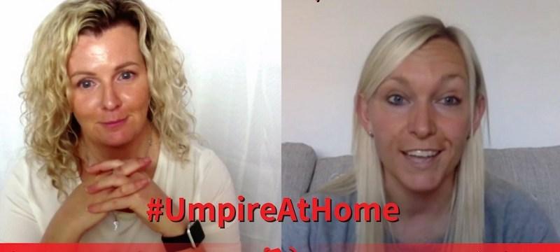 Intentional Play Over the Backline with Sarah Wilson   Field Hockey Umpiring Skills   #UmpireAtHome #TBT