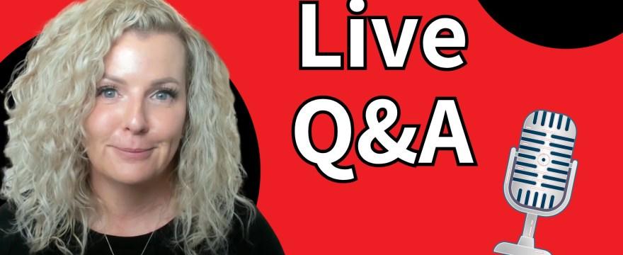 Live Q&A #WhatUpWednesday Ep. 32