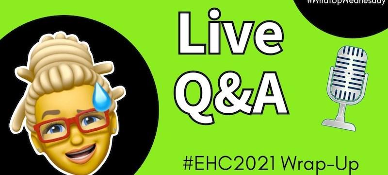 Live Q&A #WhatUpWednesday Ep. 36