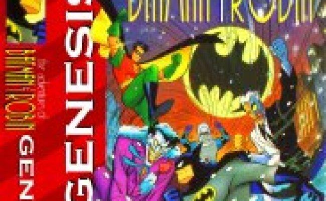 Adventures Of Batman Robin The Sega Mega Drive