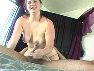 Thick BBW Amateur First Time Ballbusting