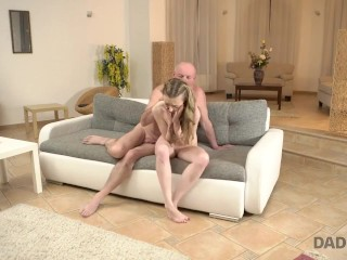 daddy4k. tall skinny peach speaks russian to bfs dad then they fuck