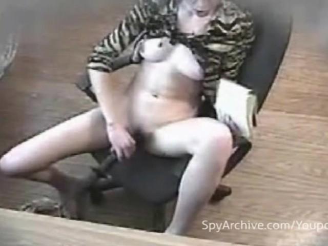 Housewife Gets Caught Masturbating on Hidden Camera  Free