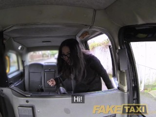 FakeTaxi Spanish beautiful girl has distinguished jugs and ass