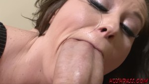 Sexy Sara Stone Takes a Crack at the Huge Cock
