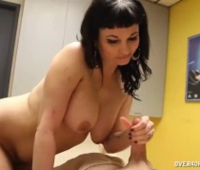 Pov Brunette Milf Is Famous For Her Happy Ending Massages