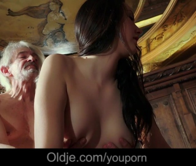 Gray Grandpa Seduced By Adorable Teen Girl For His Old Cum Free Porn Videos Youporn