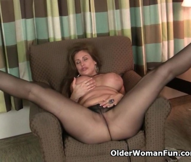 American Milf Sheila Gets Turned On By Pantyhose Free Porn Videos Youporn