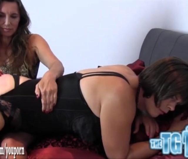 Naughty Crossdresser Sissy Slut Ass Spanked Hard For Wearing Sexy Mistresses Silky Nylon Panties Free Porn Videos Youporn