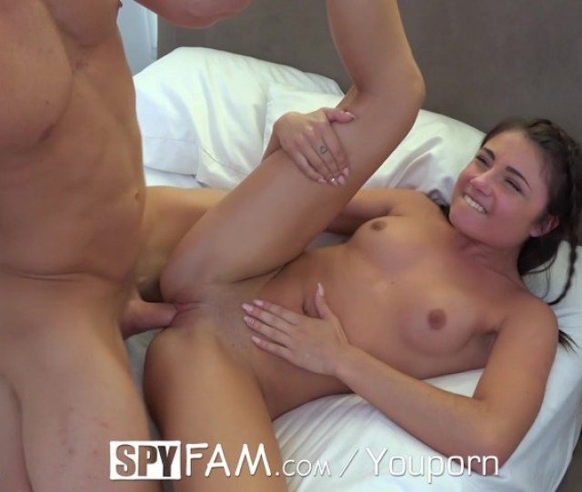 Step Sister Seduces Brother While Watching Porn