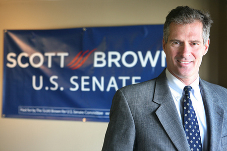 Senator-elect Scott Brown. (Photo: State Senator Scott Brown/Flickr)