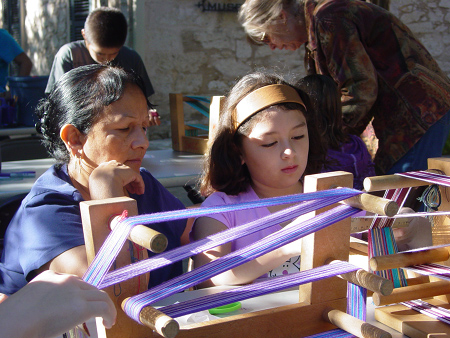 The Southwest School of Arts and Craft was one of the Latino organizations that received ARRA funds in Texas - Photo: Southwest School